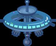 Космостанция на карте