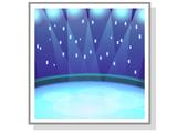 Фон «Горячий лёд»