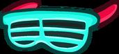 Голубые очки «Жалюзи»
