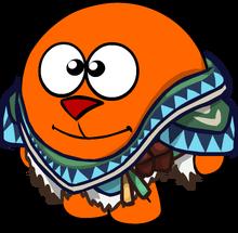 Индейский костюм на смешарике