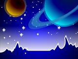 Фон «Космический»