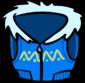 Синий жилет инвентарь