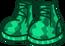 Арбузные кроссовки в инвентаре
