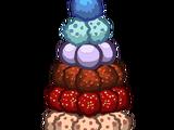 Пирамида из сладостей