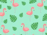 Фон «Фламинго»