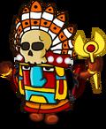 Шаман племени Майя