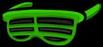 Зелёные жалюзи