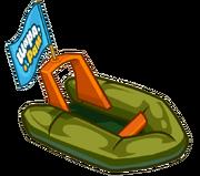 Лодка для геолога разведчика