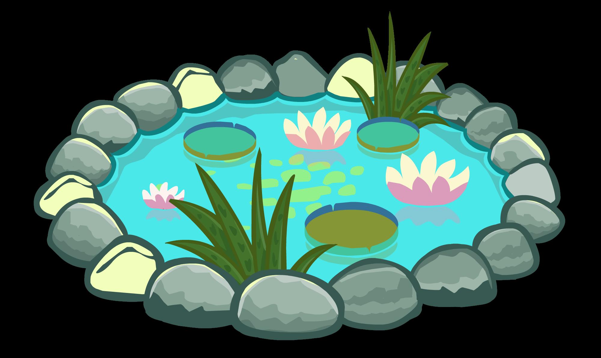 картинки озер мультяшных