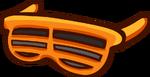 Оранжевые жалюзи