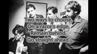 Joy Division-Something Must Break (With Lyrics)