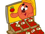 Палатка с помидорами