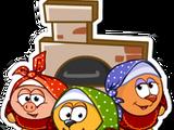 Наклейка «Шарарамовские бабушки»