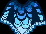 Пончо «Птичка»