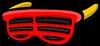 Красные жалюзи