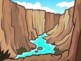 Фон «Я в каньоне»