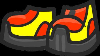 Красно-жёлтые
