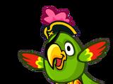 Весёлый попугай