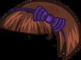 Причёска с ободком Орби