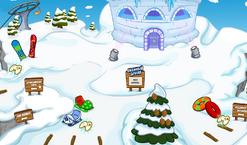 Снежгор во время квеста