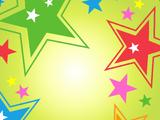 Фон «Звёзды зажигают!»