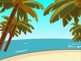 Фон «Пляж»