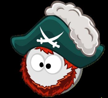Шляпа с бородой