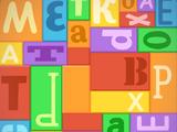 Фон «Буквы»