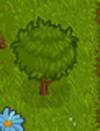 Whackable bush