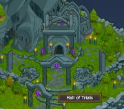 Hall of trials