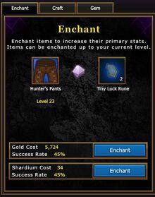 Blacksmith Enchant