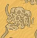 Whackable desert skulls