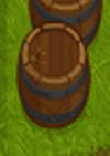 Whackable barrel