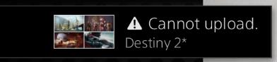 Cannotupload