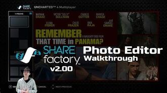 SHAREfactory™ 2.00 Photo Editor Walkthrough (PS4)