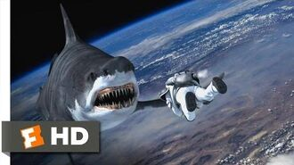 Sharknado 3 Oh Hell No! (9 10) Movie CLIP - Sharks in Space (2015) HD