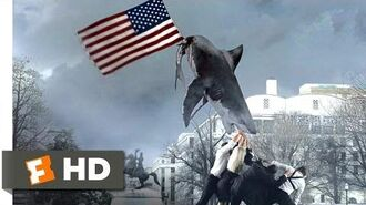 Sharknado 3 Oh Hell No! (1 10) Movie CLIP - God Bless America (2015) HD