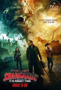 The Last Sharknado poster