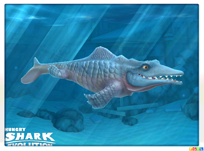 last shark hungry shark evolution