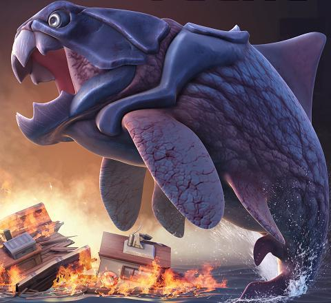 BIG DADDY (DUNKLEOSTEUS) | Sharks of hungry shark evolution Wikia | FANDOM powered by Wikia