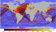 Gps-actual-shipping-routes