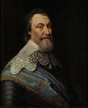 Unknown painter after M. van Mierevelt - Portrait of Axel Ochsenstierna
