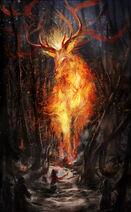 Fire elemental by drawingnightmare-d756ie1
