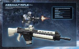 Weapon ss assault rifle