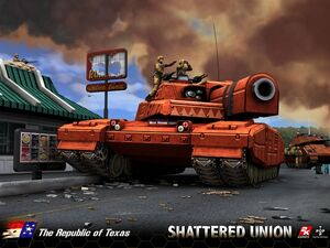 Shattered Union - The Republic of Texas