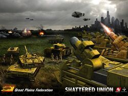 Shattered Union - Great Plains Federation