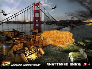 Shattered Union - California Commonwealth