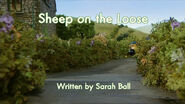 Sheep on the Loose title card