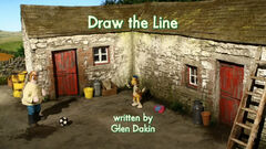 Draw the Line title card