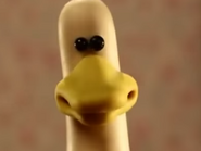Shaun the sheep duck
